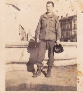 Uncle Dick in France 1944 or 45