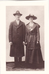 My Swedish-speaking grandparents, c. 1917