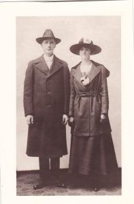 My Swedish-speaking grandparents, c. 1917