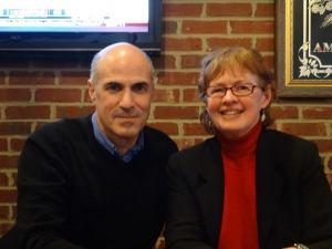 JJ and Gary Lee Kraut at Jakes Jan 30 2014