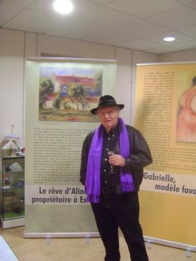 M. Bernard Pharisien, our local historian and Renoir scholar