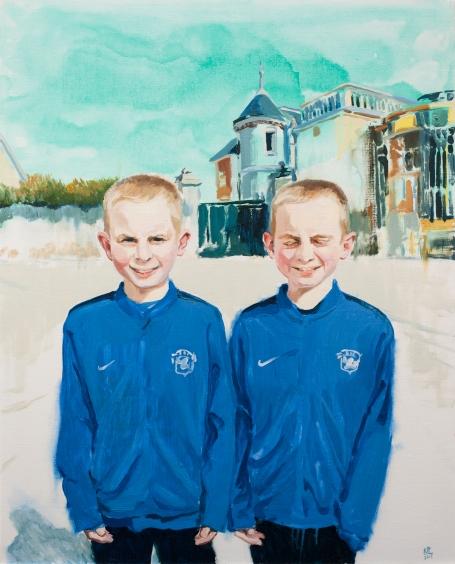 Frères jumeaux - 2017 - 100x81cm