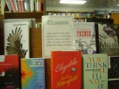 My book on the shelves at Politics and Prose