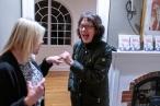 Colet Mitchell, wonderful host! and Susan Land, wonderful writer!