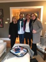 Kim, Sara, me, and Marybeth