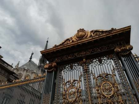The gates of St. Chapelle